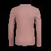 Oudroze geribbelde t-shirt - Cara soft pink