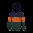 Hoodie met verschillende kleuren - Hood navy