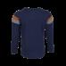 Donkerblauwe t-shirt met strepen - Hood navy