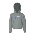 Grijsgroene sweater boring - Lola light blue melange