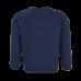 Donkerblauwe trui met regenboog - Zanna navy