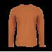 Bruine t-shirt met wolf - Loup cognac