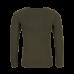 Kakigroene t-shirt met kat - Philou khaki