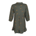 Kakigroen kleedje met tijgers - Philou khaki