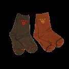 Set van 2 paar sokken aap- feet multi