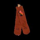 Roestbruine kniekousen unicorn - cognac sox