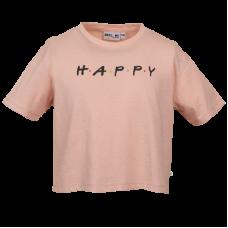 Oudroze t-shirt met opschrift - Friends old pink