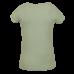 Muntgroene t-shirt met print - Social old mint