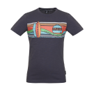Antracietgrijze t-shirt met surfplanken - Wave antracite