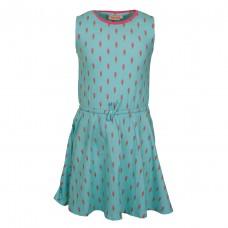 Muntgroen kleedje met ijsjes - Olala light mint (stapelkorting)