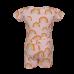 Tweedelige pyjama met regenboogprint - yammies soft pink