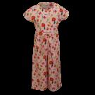 Zomerse jumpsuit met bloemen - Fiore soft pink