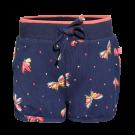 Donkerblauwe short met vlinders - Brush navy