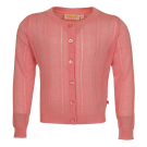 Roze glitter gebreide cardigan - Home pink