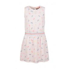 Lichtroze kleedje met strandstoelen - light pink playa
