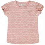 Oud roze t-shirtje met zigzagpatroon - Patia