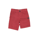 Bordeaux jeans bermuda - dark red short
