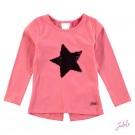 Roze t-shirt met wrijfbare ster - pink star