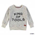 Indigo melée sweater - king of tools