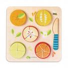 Puzzel citrusschijven