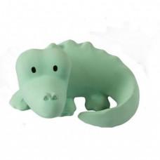 (Bad)-speeltje krokodil met belletje