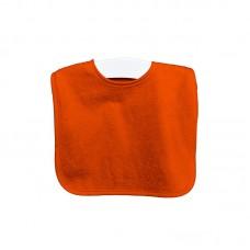 Oranje slab met drukknopen