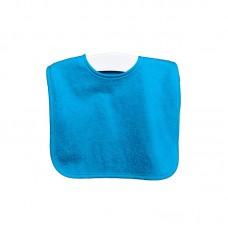Turquoise slab met drukknopen