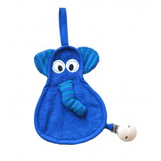 Timboo fopspeendoekje - blauwe olifant