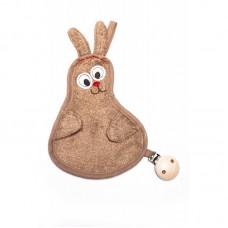 Timboo fopspeendoekje - zandkleurig konijn