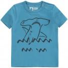 Blauwe t-shirt met hamerhaai - Atijs