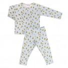 Tweedelige pyjama met bananen - bananas
