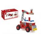 Constructie brandweerwagen  (Geboortelijst Jesse F.)