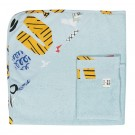 XL badcape atelier bingo (Geboortelijst Marcel D.G.)