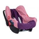 Beschermhoes voor autostoel *rood retrodesign