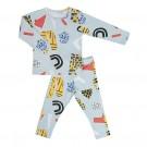 Tweedelige pyjama atelier bingo  - maat 86-92 (Geboortelijst Marcel D.G.)