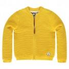 Donkergeel vestje met reliëf - Pineapple yellow Dafina