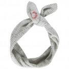 Gestreept haarlint met knoop - Dasmo  (Geboortelijst Fran V.L.)