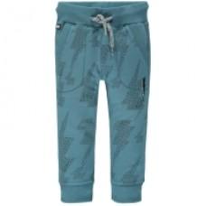 Grijsblauwe broek met bliksemflitsen - taspestry camren