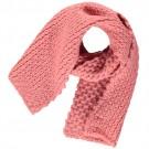 Frambooskleurige gebreide sjaal met lurex - Gurry