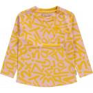 Roze t-shirt met letters - Marle peachskin