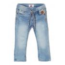 Lichtblauwe jeansbroek -Florenz denim mid blue