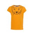 Gele t-shirt met panter - Lia saffron