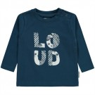 Petrolblauwe shirt loud - jovi water blue