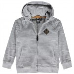 Grijs gestreepte hoodie - Owen  (stapelkorting)