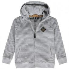 Grijs gestreepte hoodie - Owen