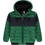 Groene winterjas met zwarte streep - Vaddon true green