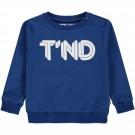 Kobaltblauwe sweater T'ND - Sharano limoges