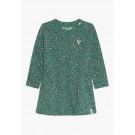 Groen/roos panterjurkje - Fir jira dress