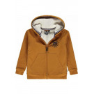 Camelkleurige hoodie - Vice cathay spice
