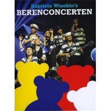 2 DVD's kapitein Winokio's berenconcerten